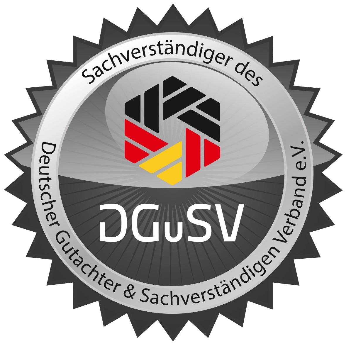 Gutachter und Sachverständigenverband Logo